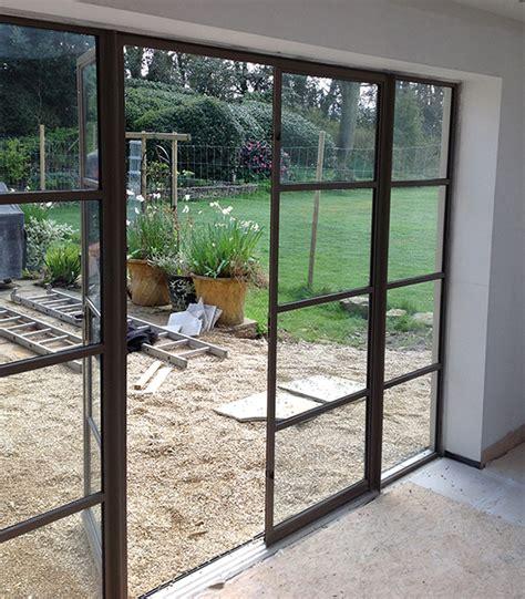 Steel Patio Doors by Crittall Doors