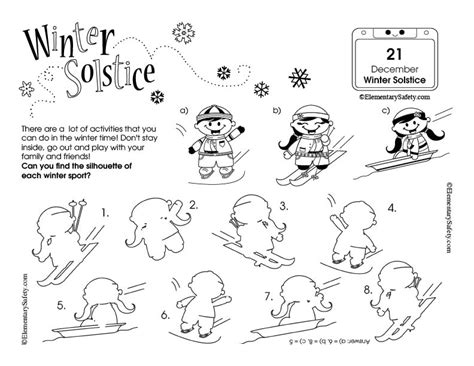 Winter Solstice Coloring Pages Winter Solstice Coloring Pages Coloring Pages