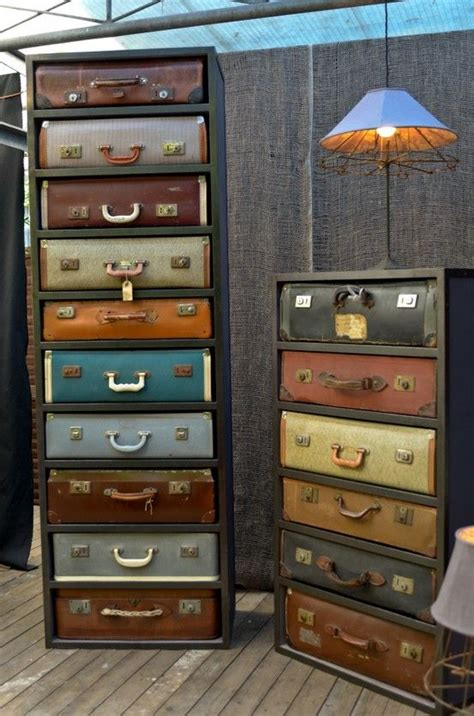 suitcase dresser vintage suitcase dresser can i have it can i pinterest