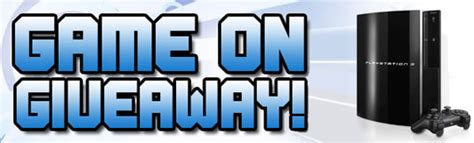 Playstation 3 Giveaway - contest sony playstation 3 giveaway