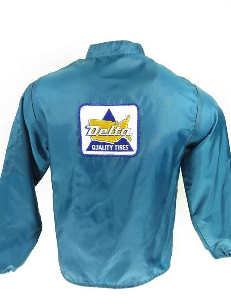 vintage 60s delta tires racing jacket mens s deadstock