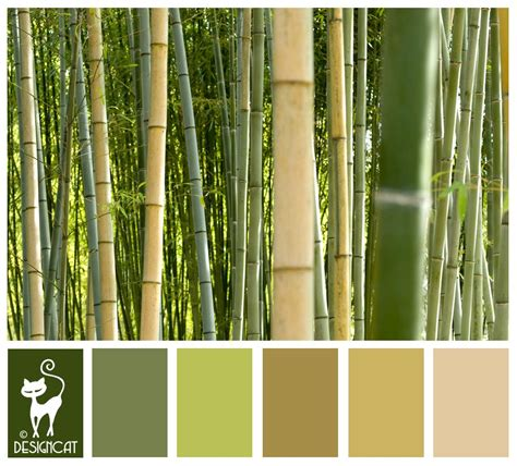 bamboo color bamboo 4 green leaf forest beige coffee sand