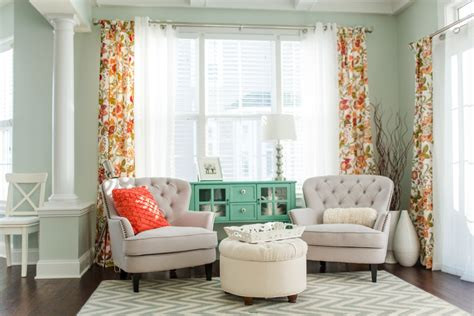 Mint And Coral Home Decor The New House The Morning Room Virginia Wedding