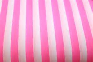 pink and white striped poly cotton mo s fabrics