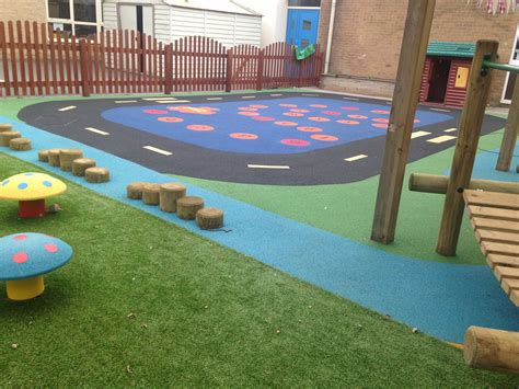 Outdoor Rubber Flooring For Play Area by Outdoor Safety Surfacing Recreational Safety Surfaces