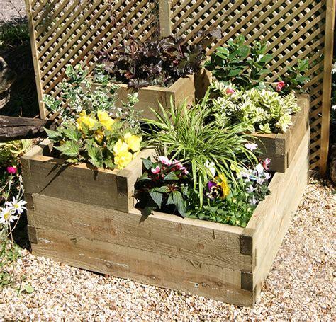 tiered raised garden bed 3 tiered raised bed garden world