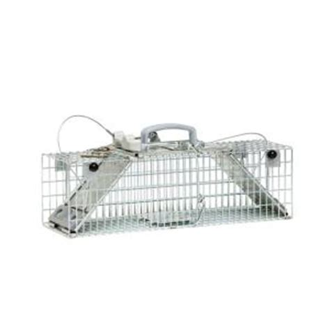 havahart small 2 door easy set live animal cage trap 1061