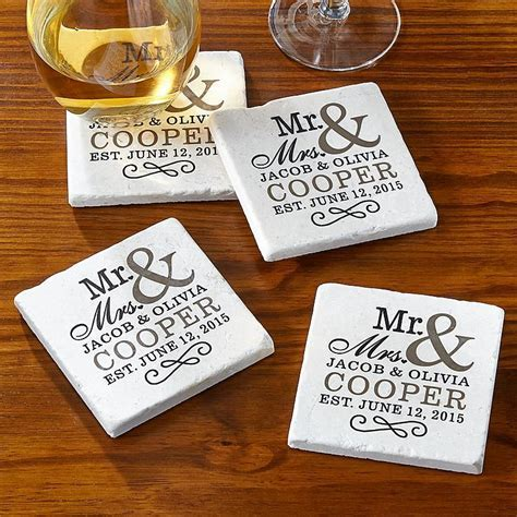 Happy Couple Tile Coasters   Tile coasters, Coasters and