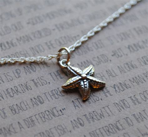 jewelry that makes a difference ready to ship the starfish necklace gift for graduation