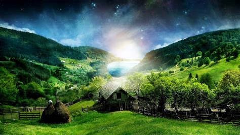 Wallpaper Pemandangan Alam Natural Kualitas HD Untuk