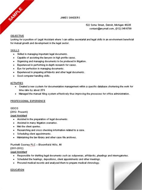 Judicial Administrative Assistant Resume Sle Interrogatories Michigan