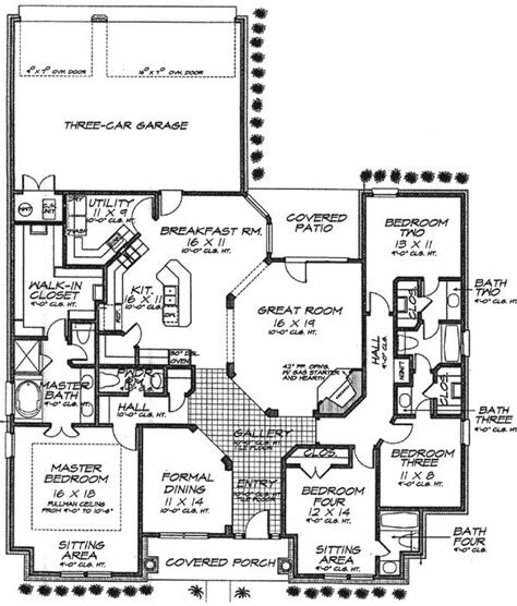 house plans with jack and jill bathroom 7 best images about jack and jill layouts on pinterest