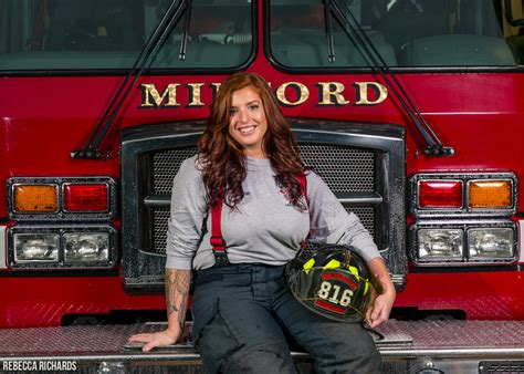 firefighter portraits bangor maine photographer