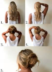 bun hairstyles how to