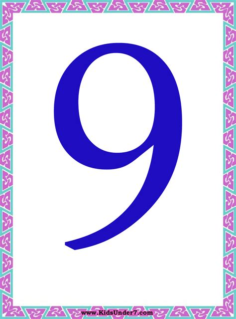 Number Cards 0 9 Template by Number Flashcards 0 9 Best Photos Of Numbers Templates 0