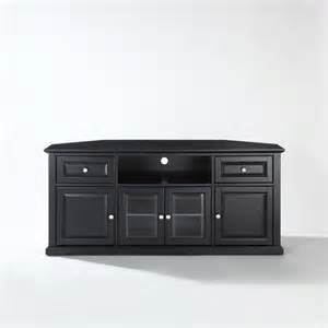 tv stands 60 inch crosley 60 inch corner tv cabinet stand at brookstone buy now