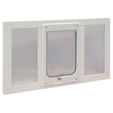 Hi Tech Pet Door Troubleshooting by Window Sash Mount Pet Door Installation Ideal For Dogs Cats