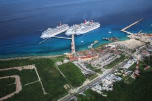 carnival adds third berth to cozumel pier world maritime