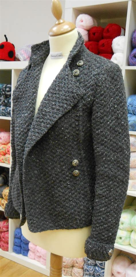 Army Knitting Pattern | jacket and coat knitting patterns in the loop knitting