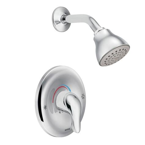Peerless Kitchen Faucet Repair Parts by Shop Moen Chateau Chrome 1 Handle Shower Faucet With Valve At Lowes Com