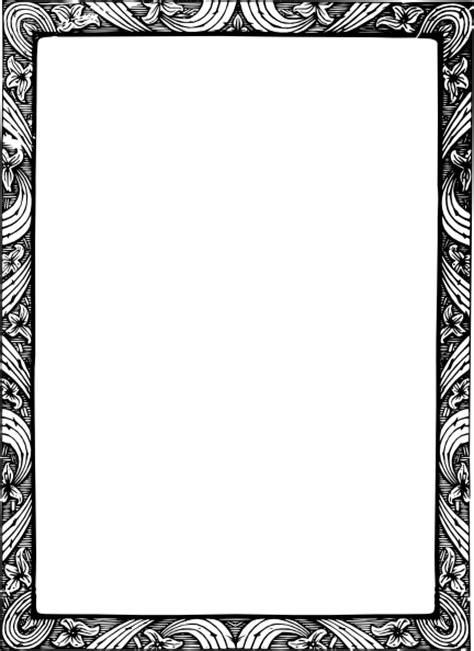 floral border clip art at clker com vector clip art