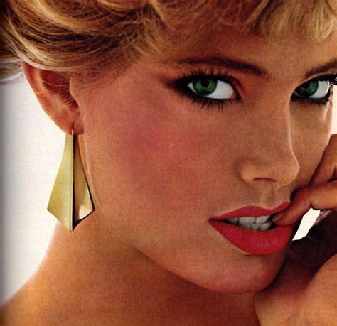 hair and makeup napier napier glamour magazine march 1982 1980s makeup
