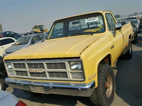 gmc used car used 1984 gmc k2500 car for sale at auctionexport