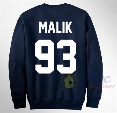 Zayns Malik 93 One Direction Sleeve zayn malik 93 one direction sweatshirt mpcteehouse