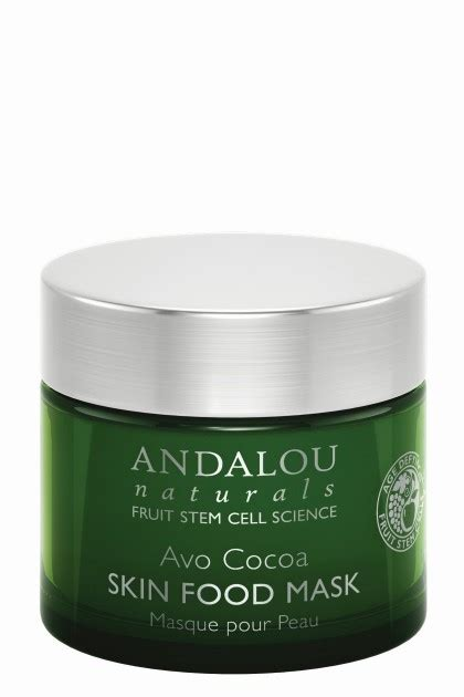 Crushlicious Chocoa Organic Facemask avo cocoa skin food mask with resveratrol coenzyme q10 and organic fruit stem cells