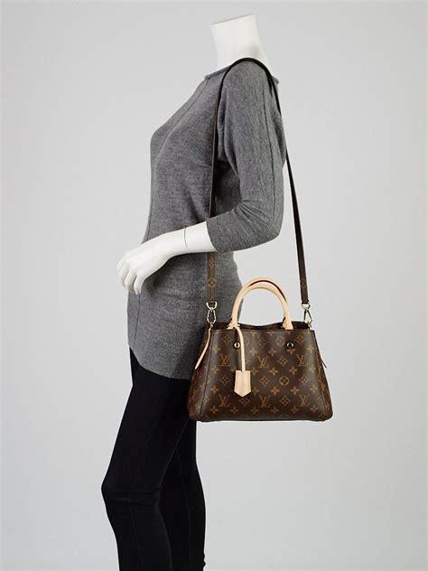 louis vuitton monogram canvas montaigne bb bag yoogi s closet