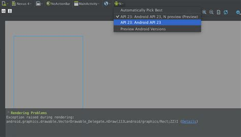 android studio layout preview rendering problem android studio 2 1 2 rendering problems vectordrawable