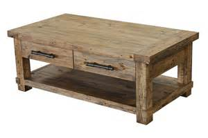 Real Wood Coffee Table Country Reclaimed Solid Wood Farmhouse Coffee Table At Gowfb Ca Cdi Furniture
