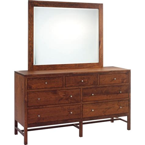 Dresser W Mirror by Millcraft Lynnwood Dresser With Mirror Stewart Roth Furniture