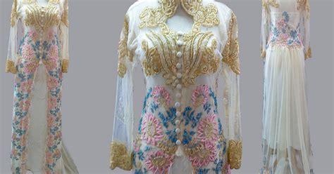 Bahan Tile Reanda Bahan Kebaya Tw kebaya muslim pengantin model kebaya muslim bahan tile modern anggun