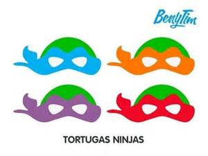 Mascaras de tortugas ninja para colorear buscar con google