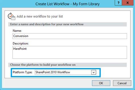 sharepoint 2010 workflow tutorial pdf convert infopath form to pdf with sharepoint workflow