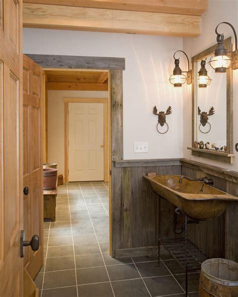 lodge bathroom ski resort lodge rustic bathroom burlington by