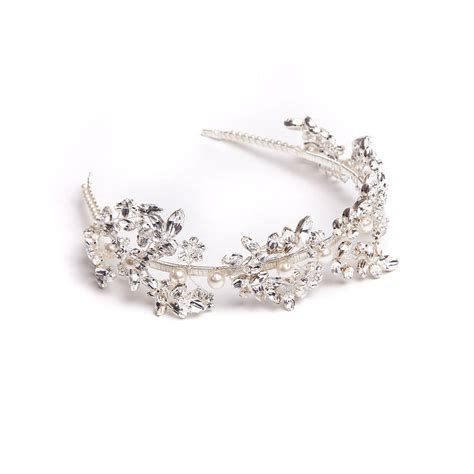 Handmade Tiaras - handmade laurel wedding tiara by rosie willett designs