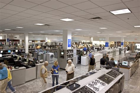 appliance showroom at abt yelp