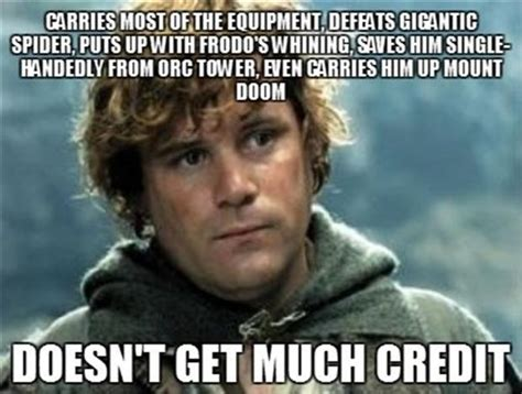 Funny Lord Of The Rings Memes - frodo meme
