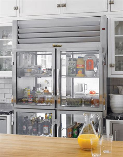 See The Cool And The Groceries 5 Exles Of Glass Glass Front Door Refrigerator