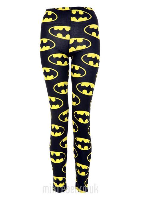 batman print legging womens clothing sale womens