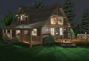 Home Plans Washington State Log Home Renders Log Homes Washington Log Homes By