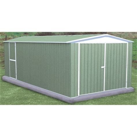 Sheds 10 X 20 by 10 X 20 Utility Pale Metal Shed