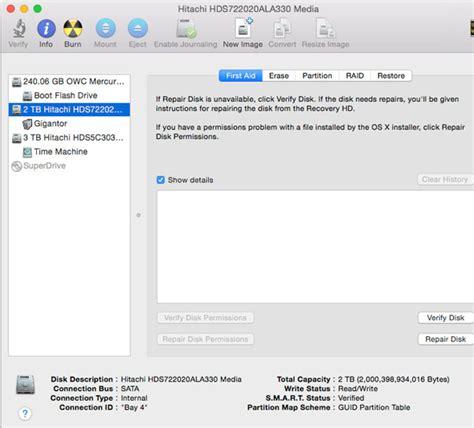 format external hard drive mac invalid request disk utility mac os x 10 4