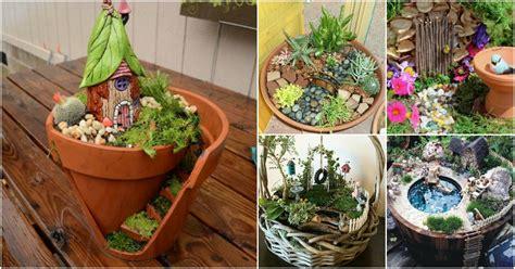 magical diy fairy gardens  add    home