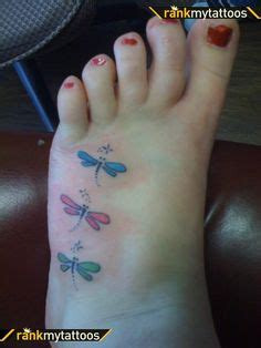 small dragonfly tattoo on foot http ideas us foot