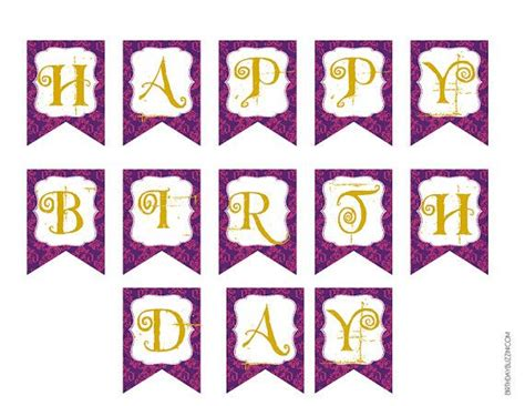 birthday banner templates happy birthday banner template wordscrawl