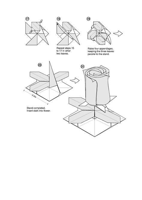 Origami Tutorial Pdf - origami diagram maker foldinator mifinder co