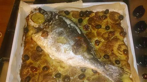 pesce su letto di patate orata al forno su letto di patate ricette